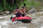 Bali Rafting is one of kind adventure you can enjoy while in Bali. For more than a dozen years, Ayung River rafing is known as the best rafting in Bali and the most favorite and the choice of leading operators in Indonesia. This white water rafting will provides a compelling challenge and adrenaline of each participant.The price 35 USD each person adult include lunch